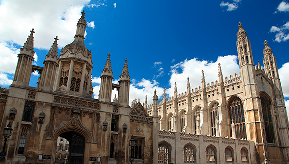 King's College Chapel, Cambridge. Photo: Pixabay
