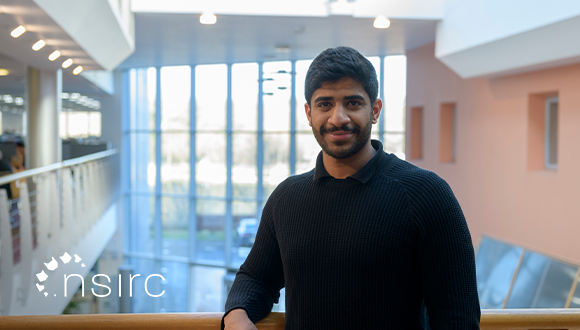 Mohammad Alghfeli has joined NSIRC to being his PhD with the University of Cambridge and is sponsored by NIC (Non-metallic Innovation Centre). Photo: TWI Ltd / NSIRC