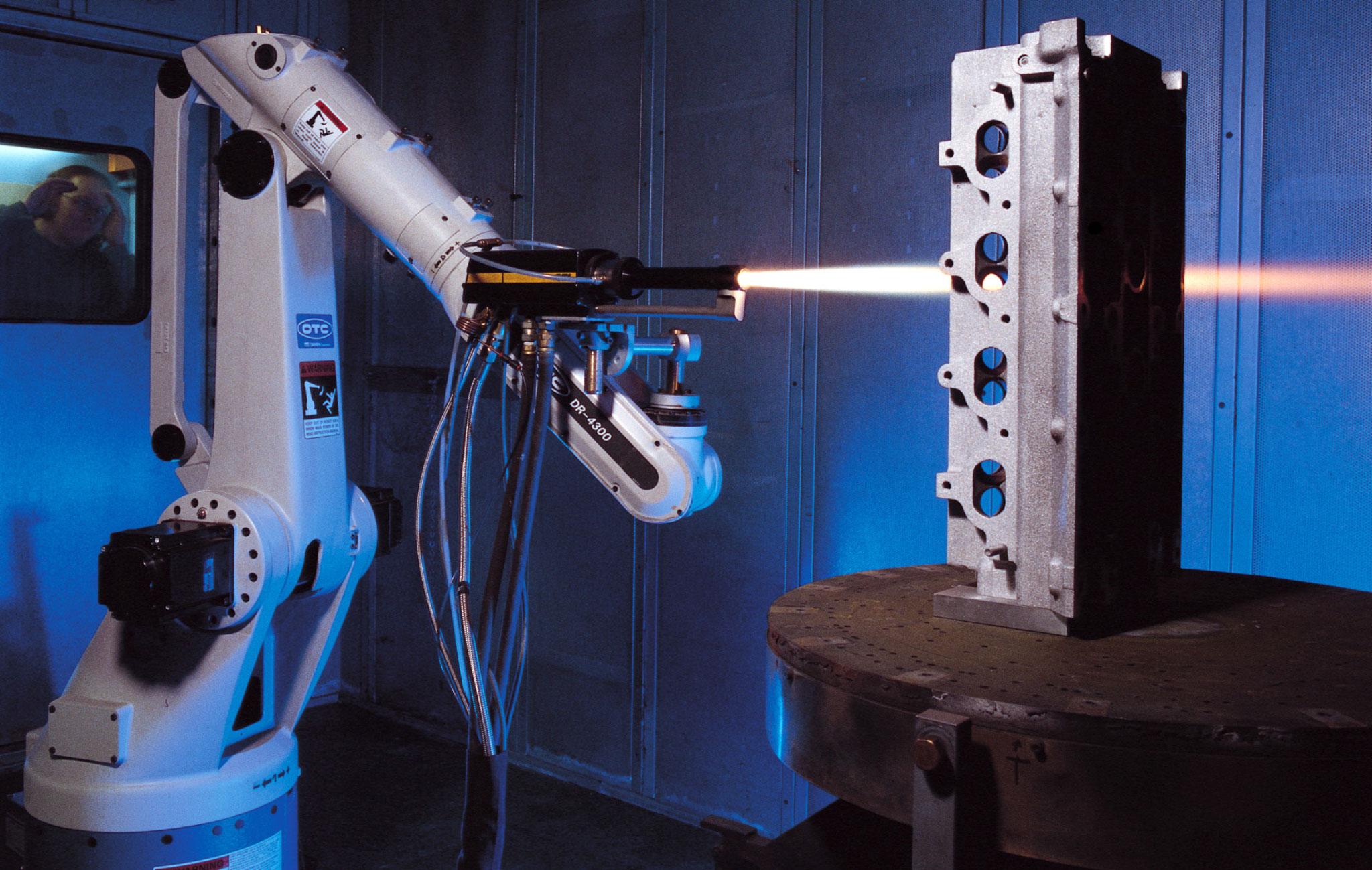 Twi Plasma Coating Of Engine Block Cylinder Bores