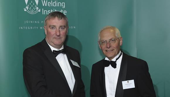 Henryk Pikarski (right) with Mike Clover of Johnson Matthey plc