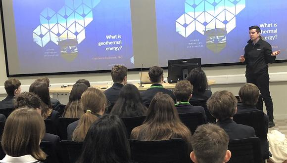 The pupils were given information about the future of power generation