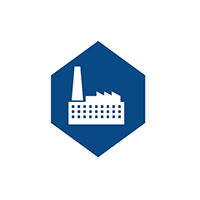 Manufacturing support icon