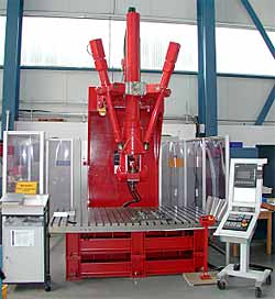 Fig. 9. Tricept 805 Friction Stir Welding robot to be utilised for welding and NDT. Courtesy of GKSS