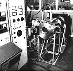Fig.1. EB machine established at BWRA in 1963