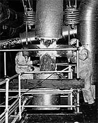 Fig.10. Repair to a steam line support attachment carried out without PWHT