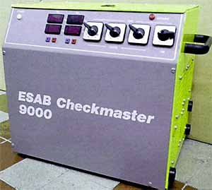 Fig. 2. Commercially available validation equipment (Esab AB)