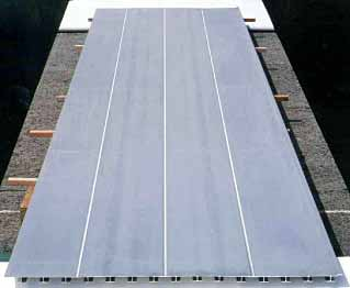 Fig.10. Friction stir welded floor panel produced by Sumitomo Light Metal for Shinkansen trains