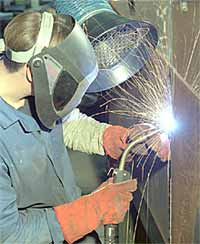 Fig.2. Gas metal arc (GMAW) welder