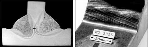 Fig.6. Fatigue improvement by weld toe grinding