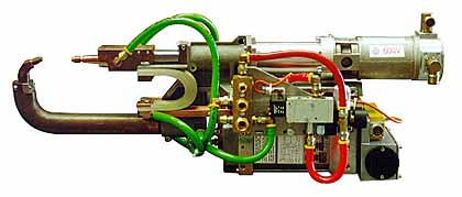 Fig.2. Typical servo controlled spot welding gun Courtesy ARO