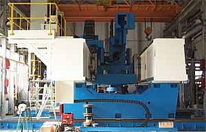 Fig.34. High-force FSW machine at TWI Technology Centre Yorkshire to weld up to 100mm thick aluminium plates