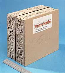 Fig.11. TWI's Barrikade ® material for fire resistant doors, decks and bulkheads