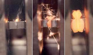 Linear friction welding of titanium in normal atmosphere