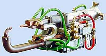 Fig.1. Typical servo controlled spot welding gun (Courtesy ARO)
