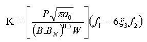 Comparison of J Equations for SENT Specimens - Equation 2