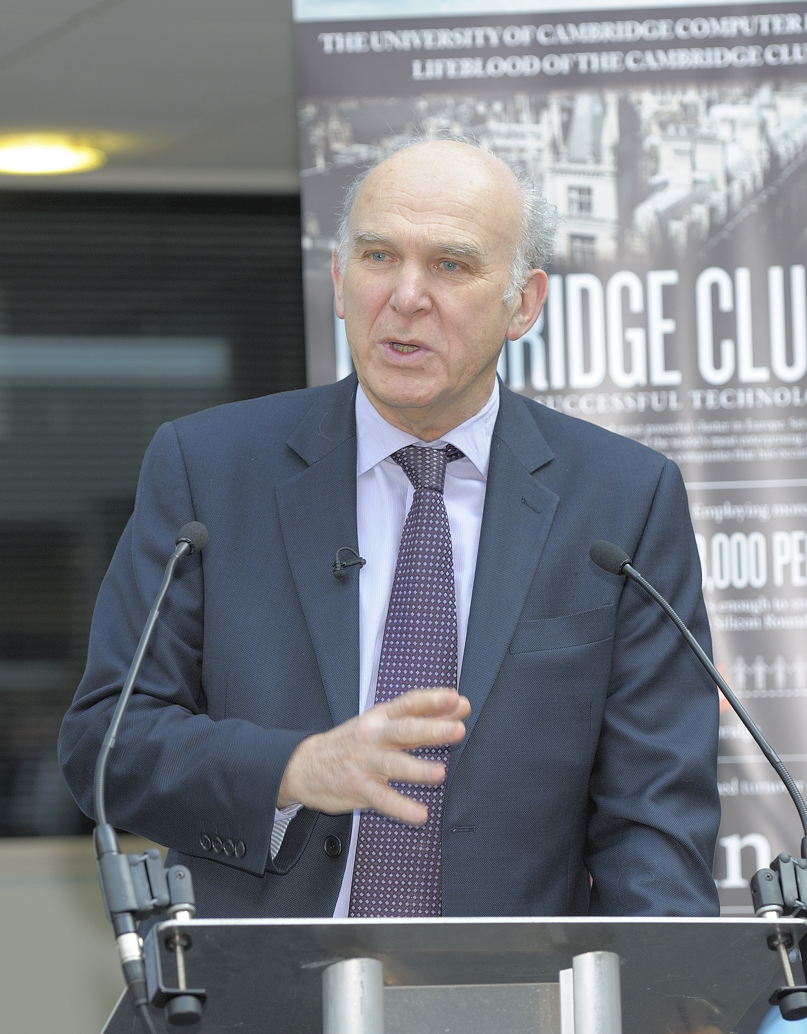 Rt Hon Dr Vince Cable MP