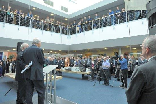 Vince Cable speaks at the launch of Cambridge Business Week 2013