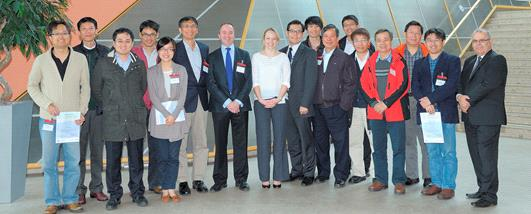 Taiwanese delegation from SOIC.