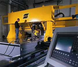 DanStir's machine envelope is 15m long, 3.4m wide and up to 1.6m high to allow welding of a wide variety of up to 25mm thick workpieces in a single pass