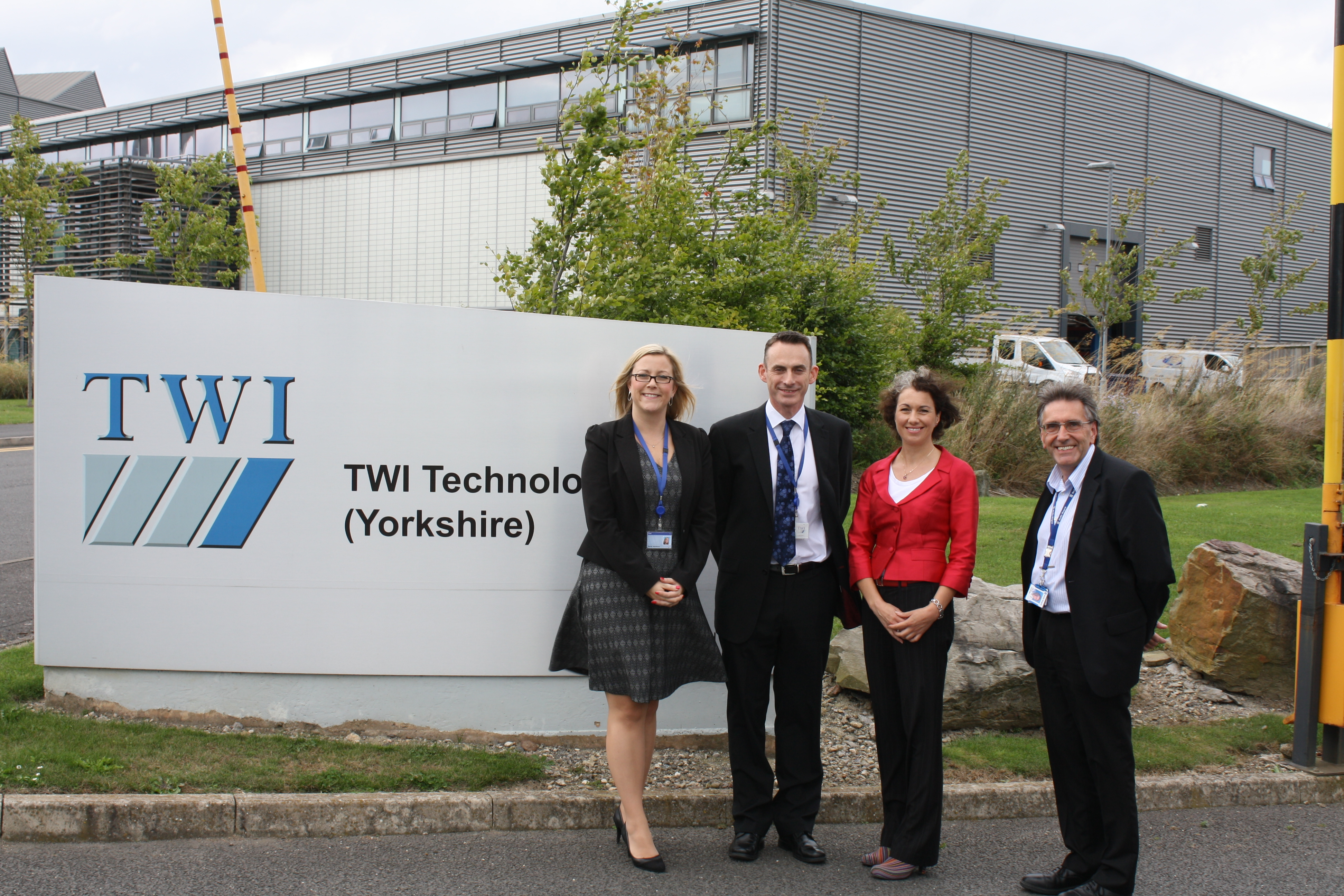 Sarah Champion MP visits TWI's Rotherham Facility
