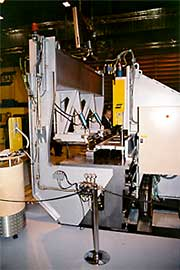 ESAB's laboratory FSW machine for welding aluminium panels and non-linear lap joints
