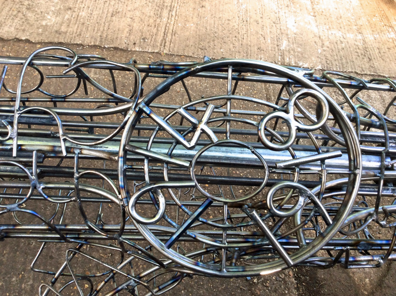 Lasting impressions - Sawston Village College WW1 centenary and welded sculpture project 1