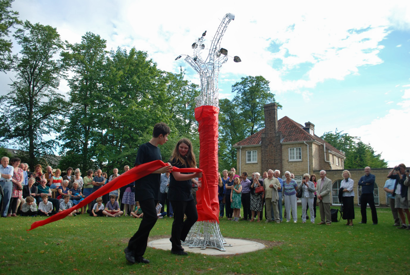 Lasting impressions - Sawston Village College WW1 centenary and welded sculpture project 2