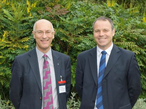 Prof Peter Budd, University of Manchester and Dr Paul Woollin, TWI
