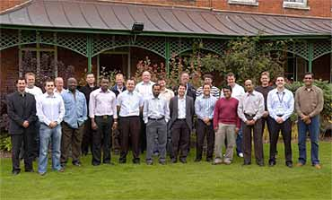 Delegates on TWI's three-day Fitness-for-Service course held in September 2008