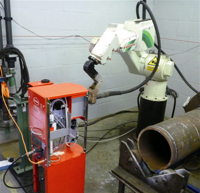 Quality testing of dry film coating system to protect welding torch components