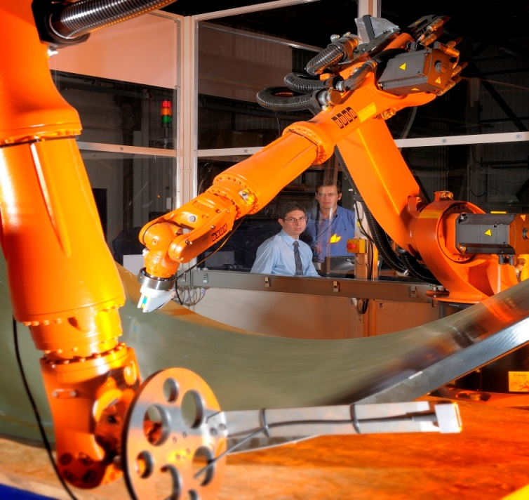 Robotic automated NDT inspection boost for the aerospace industry