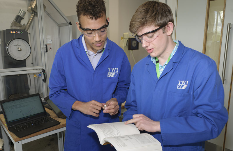 Structural integrity project sets scholars on course for engineering career