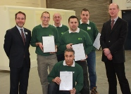 Tame Plastics awards professional welding certificates to competent employees
