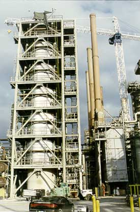 Mobil's Beaumont Refinery hydrocracker