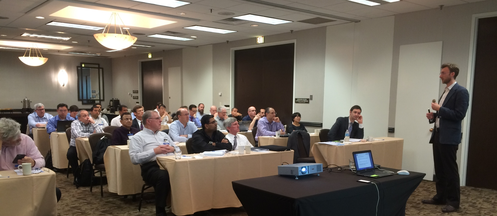 TWI's John Rothwell presents at the Houston workshop