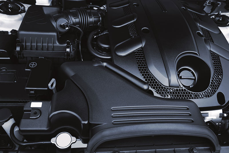 Thermoplastic moulded automotive components