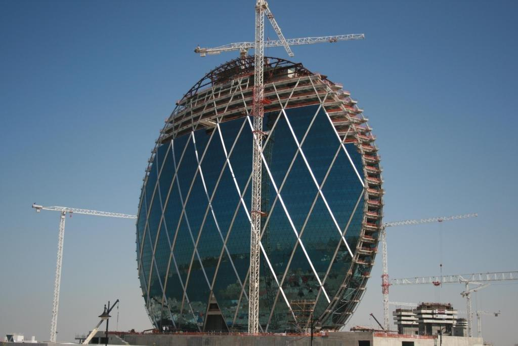 William Hare UAE received a Tekla Platinum Award for its model work on the ALDAR HQ building in Abu Dhabi
