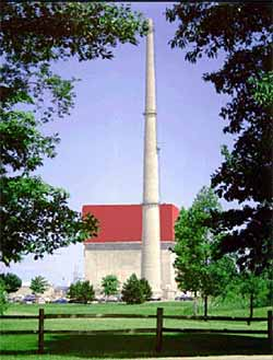The James A Fitzpatrick Nuclear Power Plant in Oswego, New York